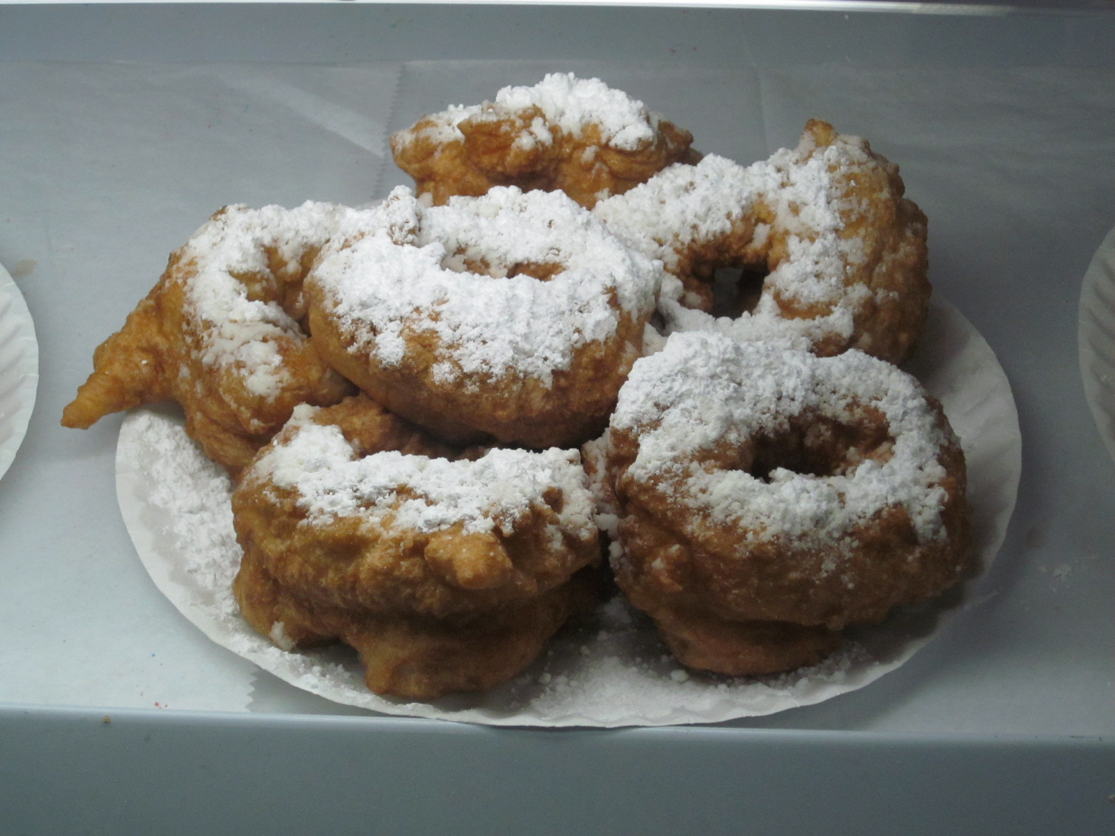 The star attraction zeppole on display, but the delectable fresh fare ...