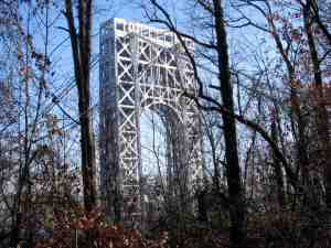 George Washington Bridge on the Jersey side.