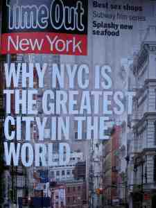 Great story about the greatest city.