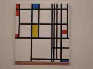 Composition in Red, Blue, and Yellow. 1937-42