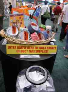 Duct tape raffle! (didn't enter)
