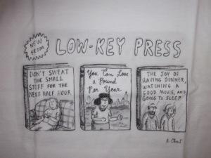 No, I am not CEO of Low Key Press.