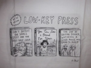 No, I am not CEO of Low Key Press.