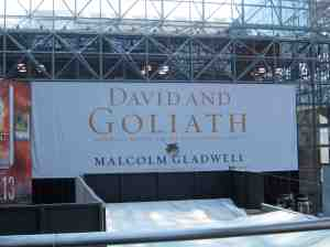 Malcolm Gladwell — heard of him as well as David & Goliath.
