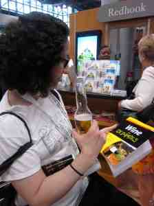 Ah, let's read about Wine for Dummies while quaffing beer.