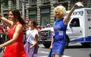 Blonde ambition.