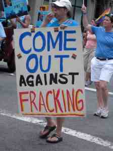 Moving on from marriage to fracking?