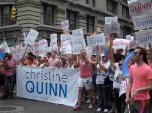 "Massive Quinn contingency or as Milton said, ""It's like she's Madonna."""