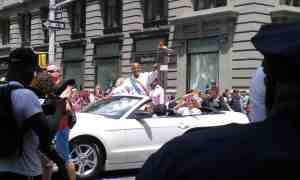 Grand Marshall Harry Belafonte!