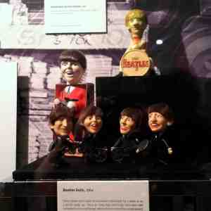 Beatle dolls, Paul bubble bath bottle, Ringo figurine. Paul and Ringo themed merchandise were the most popular. Of course, I preferred George and Ringo.