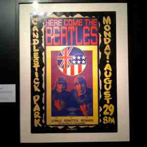 Poster for the Beatles last concert performed in my home town. None of us attended. Idiots.