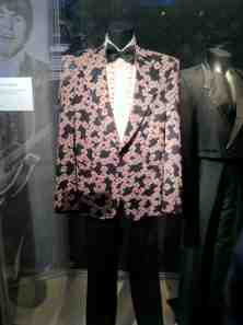 Ray Charles' suit; Ray was a Beatles influence.