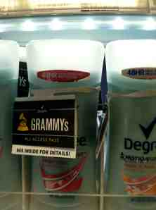 Buy Degree's 48-hour protection and go to the Grammy's feeling confident about not needing to reapply your deodorant for two days.