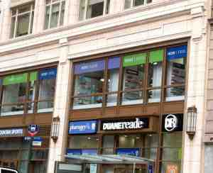 Duane Reade store with new logo.