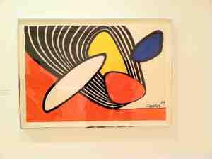 Calder. Contour Plowing. 1974.