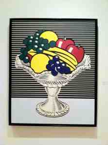 Roy Lichtenstein. Still Life with Crystal Bowl. 1963.