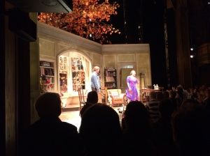 Stephen Spinella and Estelle Parson at curtain call.