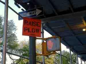 Stop raising plows!