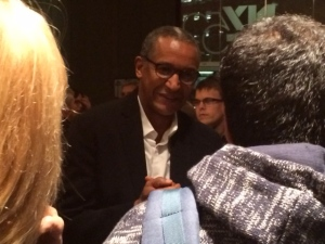 Timbukto director Abderrahmane Sissako post-screening.
