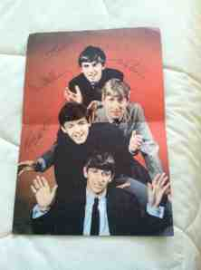 John, Paul, George, Ringo and what a relief, no sign of me.
