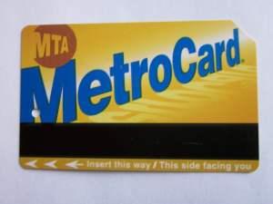 The Metrocard.