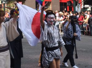 Japanese Kabuki fan pride.