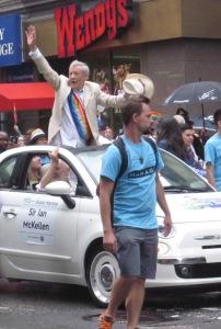 Grand marshal Sir Ian McKellen.