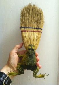 Frog broom.