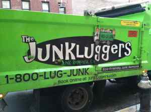 These guys were parked on my block as I was schlepping: maybe next time I'll hire them.